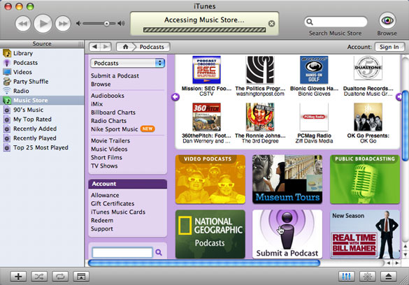 Tutorial 4 - Making your podcast ready for the iTunes® Music Store